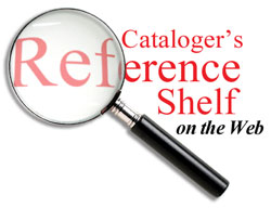 Catalogers Reference Shelf